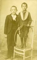 France Paris Jouet D Enfant Cerceau Ancienne CDV Photo Vastel 1900 - Photographs