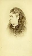 France Paris Actrice Theatre Mlle Leonie Baron Ancienne CDV Photo Reutlinger 1870 - Photographs