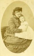 France Paris Comtesse Martel De Janville Ancienne CDV Photo Maunoury 1870 - Photographs
