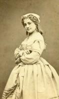 France Paris Actrice Theatre Mlle Marie Lacroix Ancienne CDV Photo Lege & Bergeron 1870 - Old (before 1900)