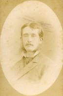 France Nancy Comte Roger Martel De Janville Ancienne CDV Photo Barco 1875 - Photographs