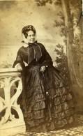 France Nancy Eugènie Fourier De Bacourt Darantière Ancienne CDV Photo Chatelain 1860's