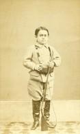 France Paris Cirque Barnum Amiral Dot Ancienne CDV Photo Michel 1870 - Antiche (ante 1900)