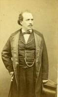France Paris Theatre Acteur Pierre Michot Ancienne CDV Photo Carjat 1860's - Photographs