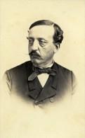 France Paris Comte De Saint Romain Ancienne CDV Photo Bureau 1865 - Photographs