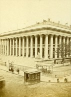 France Paris Bourse Second Empire Ancienne CDV Photo 1865 - Old (before 1900)
