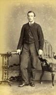 Royaume Uni York Homme Mode Victorienne Ancienne CDV Photo Gowland 1865 - Photographs