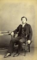 Royaume Uni Londres Homme Mode Victorienne Ancienne CDV Photo 1865 - Photographs