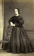 Royaume Uni Retford Femme Mode Victorienne Ancienne CDV Photo Ashley 1865 - Photographs