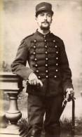 France Lille Militaire Soldat Ancienne CDV Photo 1890 - Photographs