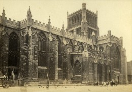 Royaume Uni Bristol Cathedrale Ancienne CDV Photo Bedford 1865 - Old (before 1900)