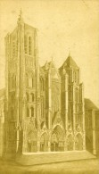 France Bourges Cathedrale Ancienne CDV Photo Lanoue 1880 - Photographs
