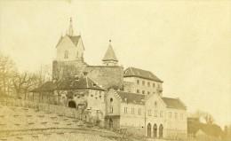 Allemagne Bade Château Eberstein Ancienne CDV Photo Numa Blanc 1865 - Photographs
