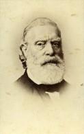 France Paris Savant François Vincent Raspail Ancienne CDV Photo Anonyme 1865 - Photographs