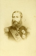 Belgique Bruxelles Roi Leopold II Ancienne CDV Photo Ghemar 1865 - Photographs
