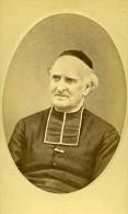 France Personnalité De Mayenne Laval Abbe Letard Ancienne CDV Photo Durandelle 1875 - Old (before 1900)