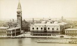 Italie Venise La Piazetta Ancienne CDV Photo 1870 - Photographs