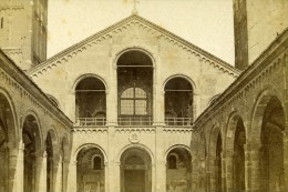 Italie Turin Cloitre De San Giovanni Ancienne CDV Photo Brogi 1870 - Photographs