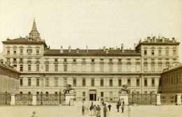 Italie Turin Palais Royal Ancienne CDV Photo Brogi 1870 - Photographs