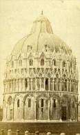 Italie Pise Le Dome Ancienne CDV Photo Van Lint 1870 - Photographs