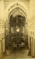 Italie Pise Interieur De La Cathedrale Ancienne CDV Photo Van Lint 1870 - Old (before 1900)