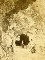France Haute Savoie La Tete Noire Ancienne CDV Photo 1870 - Photographs
