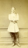 Royaume Uni London Homme Mode Victorienne Ancienne CDV Photo Hill & Saunders 1870 - Photographs