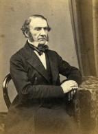 Politicien Anglais Londres William Gladstone Ancienne CDV Photo LSC 1865 - Ancianas (antes De 1900)