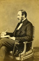 Royauté Anglaise Londres Albert De Saxe Cobourg Prince Consort Ancienne CDV Photo Mayall 1861 - Photographs
