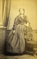 Saison Theatrale Londres Actrice Henrietta Simms Ancienne CDV Photo Newcombe 1864 - Photographs
