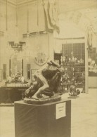 Galerie Prussienne Lutteurs Exposition Universelle 1867 Leon & Levy Photo CDV Ancienne - Photographs