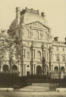 France Paris Le Louvre Pavillon Richelieu Ancienne Photo CDV Anonyme 1860's - Photographs
