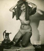 France Paris Boite D'Allumettes Femmes Nues Ancienne Photo Teddy Piaz 1940 - Old (before 1900)