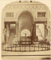 Vatican Museum Rome Italy Stereo Photo 1860 - Stereoscopic