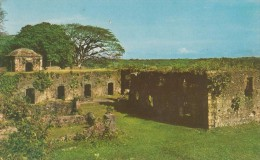 PANAMA, RUINAS DEL CASTILLO DE SAN LORENZO [28899] - Panama