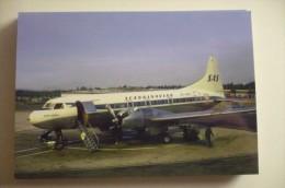 SAS   CONVAIR 4400   OY KPW - 1946-....: Moderne