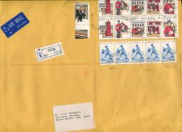 (special 8) Australia - Registered Large Envelope + Security Paid Label - 1984 - Australia