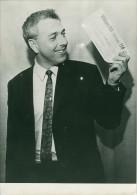 Winning Bet Man On The Moon Old Photo July 1969 - Photographs