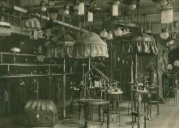 Leipzig Fair Beleuchtung Lamps Exhibit Old Photo 1930 - Leipzig