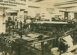Leipzig Fair Buchproduktion Book Binding Old Photo 1930 - Leipzig
