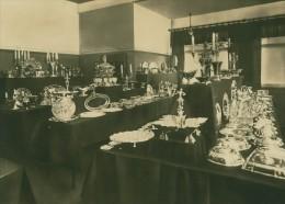 Leipzig Fair Silberwaren Silverware Exhibit Photo 1930
