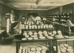 Leipzig Fair Porzellangeschirr China Exhibit Photo 1930