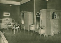 Leipzig Fair Möbel Furniture Exhibit Old Photo 1930