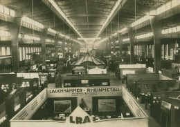 Leipzig Fair Industrie Industry Exhibition Photo 1930 - Leipzig
