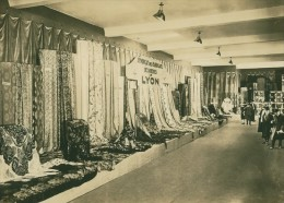 Leipzig Fair Soieries De Lyon Silk Seide Old Photo 1930