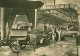 Leipzig Fair Transportmittel Fahrzeug Old Photo 1930