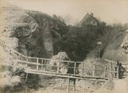 Hawthorn Dene Coastguard Station Bridge Old Photo 1890 - Old (before 1900)