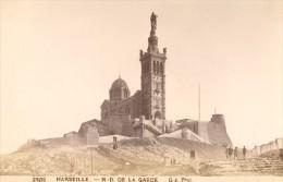 Marseille, Notre Dame De La Garde France Old Photo 1880 - Photographs
