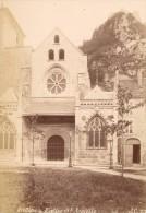Salins Saint Anatoile Church France Old Photo 1880' - Photographs