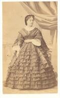 Mlle Dottini Early Opera Theatre Old CDV Photo 1860' - Photographs